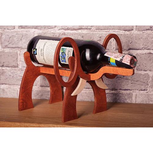 Подставка для бутылки вина из дерева своими руками 31