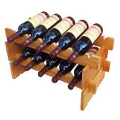 Как смастерить полки для вин